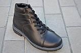 Ботинки мужские кожаные зимние и демисезонные от производителя KARMEN 533009, фото 2