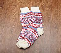 Женские носки, тёплые носки, вязанные носки, ангоровые носки, 37-39