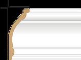 Карниз стельовий гладкий Decolux АВ12050, ліпний декор з дюрополімер, фото 2
