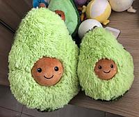 """Мягкая детская плюшевая игрушка """"Авокадо"""" в стиле ИКЕА, подушка-антистресс из флиса для интерьера детской"""