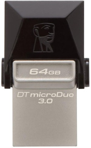 Flash Drive Kingston DT MicroDuo 64GB OTG USB 3.0