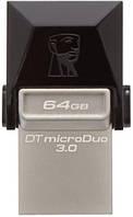 Flash Drive Kingston DT MicroDuo 64GB OTG USB 3.0
