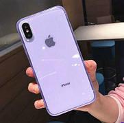 Чехол Matte Frame для Iphone XS Max  Blue