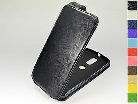 Откидной чехол из натуральной кожи для Motorola Moto G4 XT1622