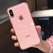 Чехол Matte Frame для Iphone XS Max  Pink