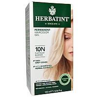 Краска для волос, Herbatint, 10N, платиновый блонд, 135 мл.