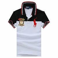 Ralph Lauren Polo 100% хлопок мужская футболка поло ральф лорен ралф, фото 1
