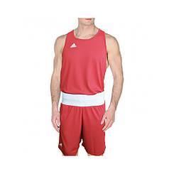Боксерська форма adidas boxing красная