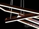 Сучасна світлодіодна люстра MD11001-3CF-800+600+400 dimmer, фото 6