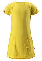 Платье летнее Reima Sommarlov желтое 122* (535012-2330)