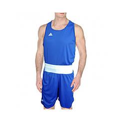 Боксерська форма adidas boxing  синяя