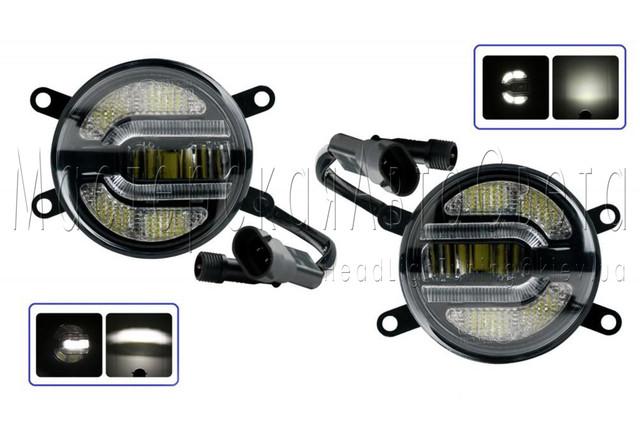 Светодиодные LED ПТФ противотуманные фары