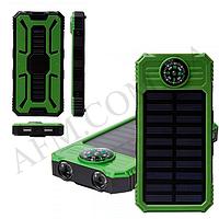 Внешний аккумулятор (Power Bank) Solar SOL-5 15000 mAh (зелёный)