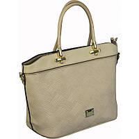 Сумка стильная,модная,кожзам-экокожа,женская сумочка.Бежевая.
