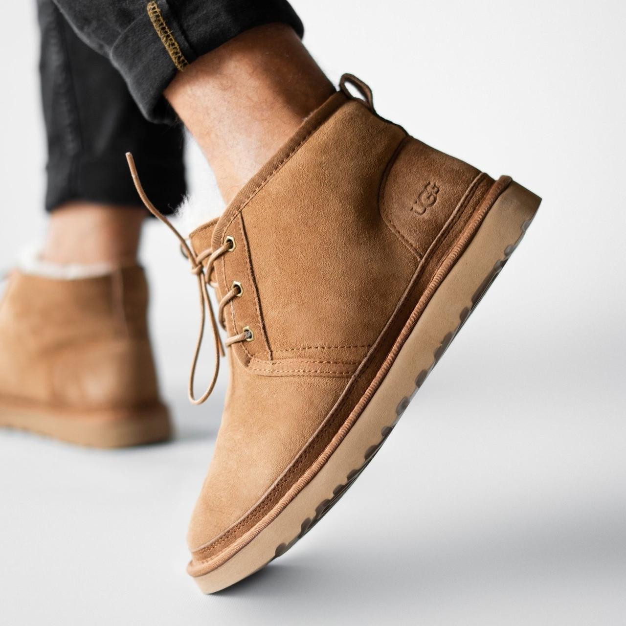Мужские зимние ботинки UGG Neumel с мехом
