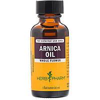 Масло арники, Arnica Oil, Herb Pharm, (29.6 мл)