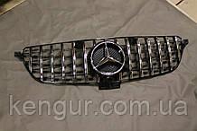 Решетка радиатора Mercedes GLE W166 стиль GTI Panamericana