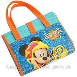 Пляжная сумка-коврик Микки и веселые гонки Disney (Arditex), WD11896