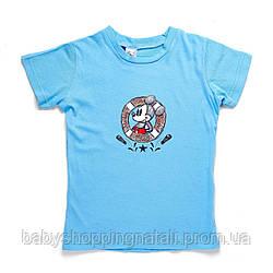 Футболка Минни Маус Disney (Arditex), WD11025_blue, 6 лет (116-122 см), 6 лет (116 см)