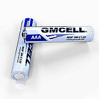 Батарейка AAA R03P UM-4 1,5V солевая GMCELL Heavy duty