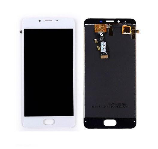 Дисплей для Meizu U10 (U680H) с сенсорным стеклом (Белый) Оригинал Китай