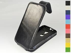 Откидной чехол из натуральной кожи для Motorola Moto X Phone XT1060