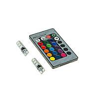 Светодиод 12V Белый W5W T10-085 RGB 5050-6 12V