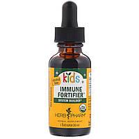 Herb Pharm, Детское средство для укрепления иммунитета Immune Fortifier, без спирта, 1 ж. унц. (30 мл)