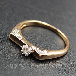 """Кольцо женское помолвочное  Xuping( Хьюпинг) """"Moira"""""""