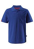 Футболка-поло для мальчиков Reima Surf темно-синяя 116* (536275-6840)