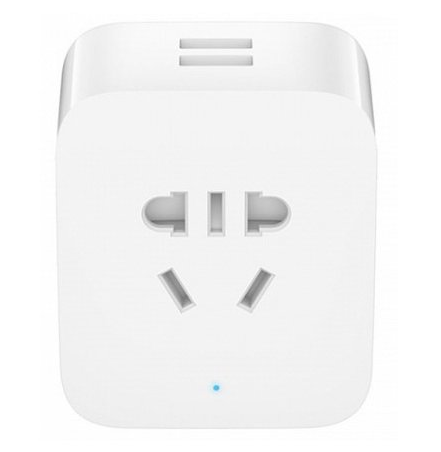 Умная розетка Xiaomi Mi Smart Socket Wi-Fi Enhanced Edition (2 USB) White
