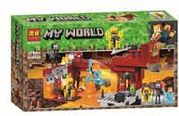 "Конструктор Bela (Lari) 11362 Minecraft ""Мост ифрита"", 378 детали. Аналог Лего Майнкрафт 21154"