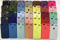 Чехол Silicone Case для iPhone 5/SE/6/6s 6+/6s Plus