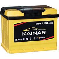 Аккумулятор (АКБ) 60Ah-12v KAINAR Standart+ (242х175х190),R,EN550