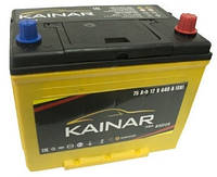 Аккумулятор (АКБ) 75Ah-12v KAINAR Asia (258x173x220),R,EN640
