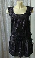 Платье женское модное стильное легкое нарядное коктейльное хлопок бренд Miss Selfridge р.42, фото 1