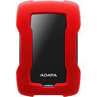 """Внешний жесткий диск 2.5"""" 2TB ADATA (AHD330-2TU31-CRD), фото 1"""