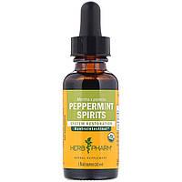 Мята перечная, Peppermint, Herb Pharm, 29,6 мл