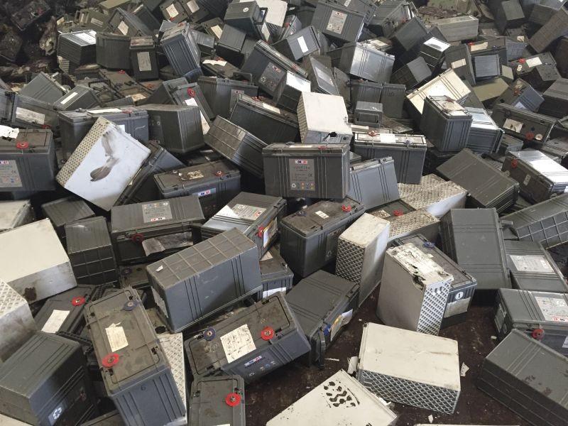 Лом свинцовых гелевых батарей