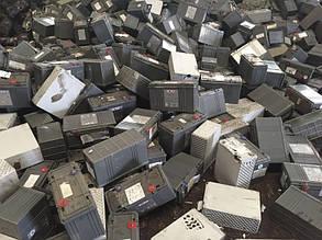 Брухт свинцеві гелієвих акумуляторів
