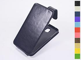 Откидной чехол из натуральной кожи для Motorola Moto Z Play XT1635-02