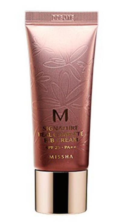 ВВ крем з природним покриттям Missha Signature M Real Complete BB Cream №21 Світло-бежевий 20 мл