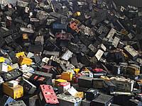 Лом свинцовых батарей в полипропиленовых моноблоках