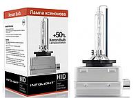 Ксеноновая лампа D3S Infolight (+50%) 4300, 5000, 6000К