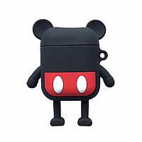 Чехол Case для наушников Apple AirPods Alitek Mickey (Микки Маус) + карабин (88692), фото 1