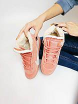 КРОССОВКИ Nike Blazer  Замша/ Мех, Nike Blazer  ЗИМНИЕ Женские, Розовые, Жіночі кросівки зимовi,36-40, фото 2