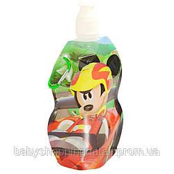 Мягкая бутылка Микки и веселые гонки Disney (Arditex), WD11905