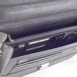 Портфель мужской кожаный черный Eminsa 7074-37-1, фото 6