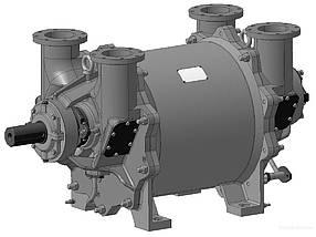 Насос ВВН 2-150 М, ВК-150, ВВН-150 вакуумный водокольцевой агрегат давление Атм Бар мПа