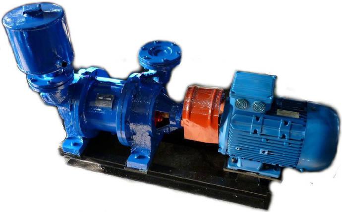 Насос ВВН 3Н, ВВН3Н нержавейка вакуумный водокольцевой агрегат давление Атм Бар мПа, фото 2